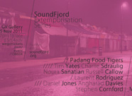 SoundFjord Extemporisation series, November 25th,7pm – late