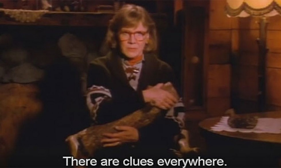 log lady there are clues everywhere