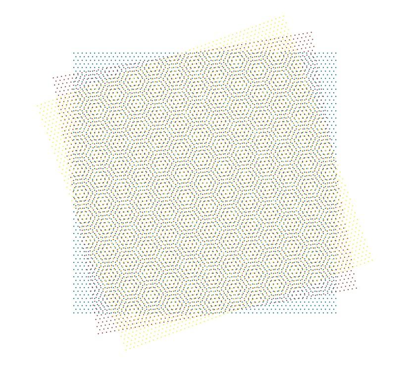 Trichromatic Moiré Cover