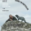 Sound I'm Particular talk series, Geoff Sample, May 22nd