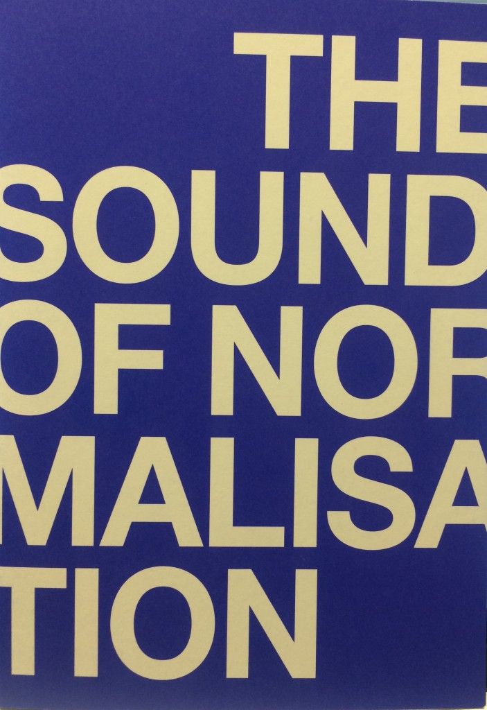sound of normalisation front