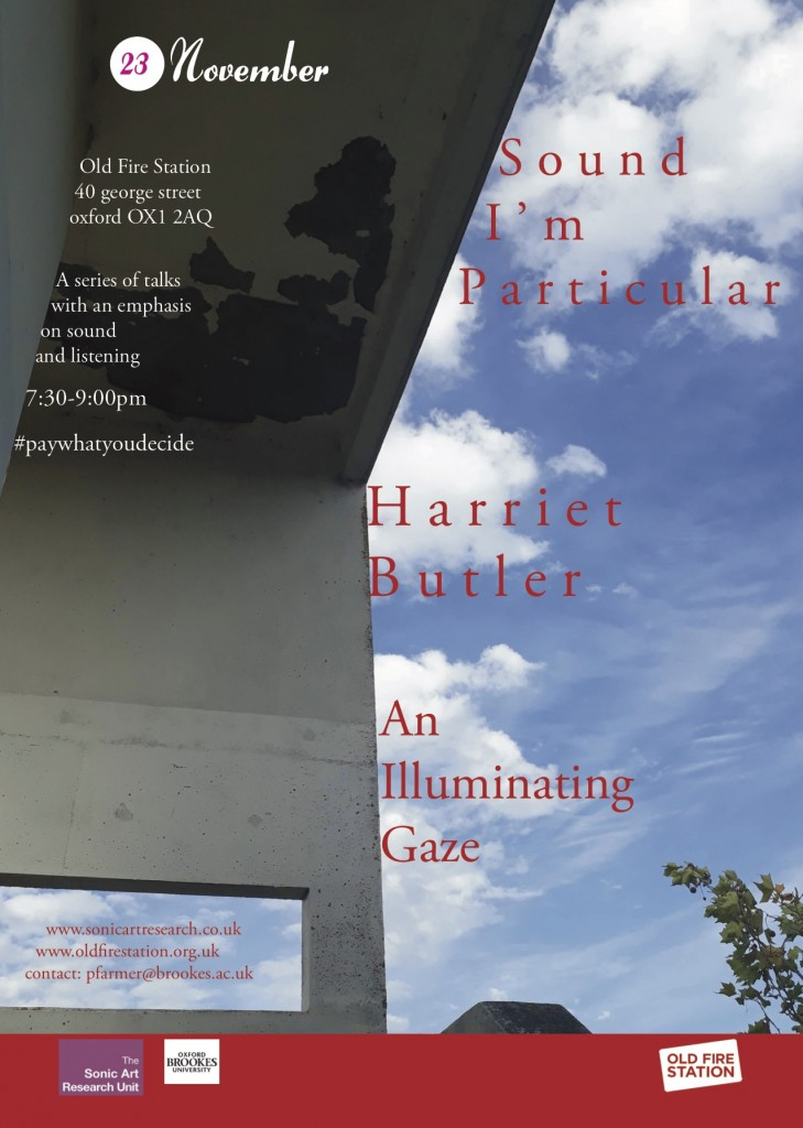 Harriet Butler - An Illuminating Gaze 2