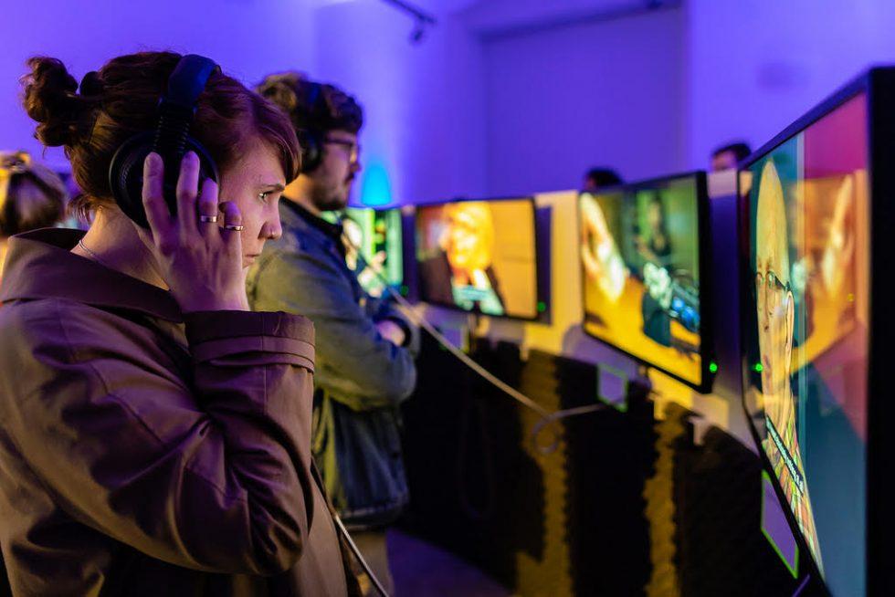 Image of Tonotopia video installation